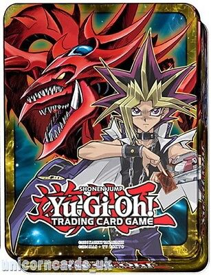YuGiOh! Mega Tin 2016 :: Yugi & Slifer + Dark Magician  :: Brand New and Sealed!