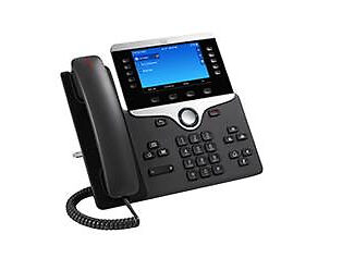 Cisco IP Phone 8851 IP-Telefon Schwarz - VoIP-Telefon - Voice-Over-IP