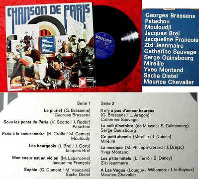 LP Chanson de Paris (Philips 840 591 PY) D 1967