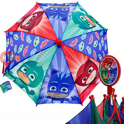 PJ Masks Kids Umbrella Catboy Owlette Gekko Boys Umbrella