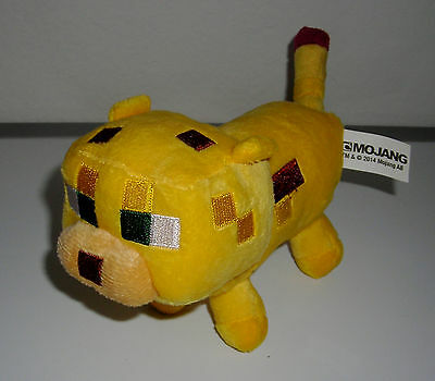 Pleasing Mojang Minecraft Yellow Cat Ocelot 6 Bean Bag Plush Toy Ocoug Best Dining Table And Chair Ideas Images Ocougorg