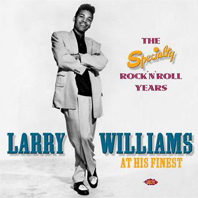 """LARRY WILLIAMS  """"THE SPECIALITY ROCK'N'ROLL YEAR""""  2 CD's  47 TRACKS"""