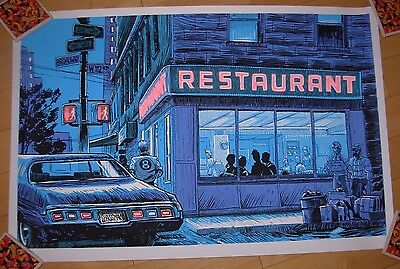 SEINFELD poster print THE BIG SALAD Tim Doyle Unreal Estate UNSIGNED