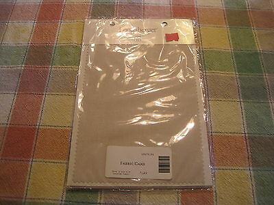longaberger flax  fabric card imh#2856