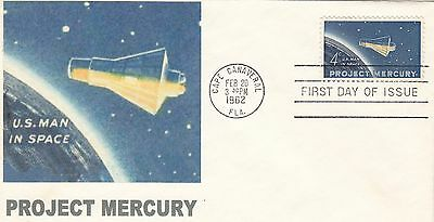 Project Mercury #1193 FDC - Nice cover