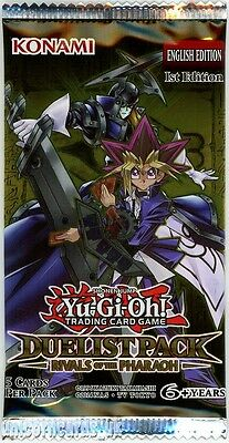 YuGiOh! Duelist Pack Rivals of the Pharaoh 1st Edition New And Sealed Booster Pa