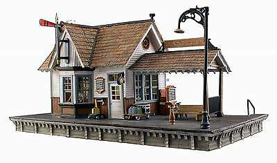 Woodland Scenics Built & Ready O Scale Building The Depot Led Lighting