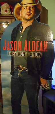 Jason Aldean They Don't Know Lifesize Promo Standee