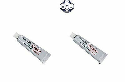 2 x HENSILITE GRIPPO POLISH & WAX TUBES (no packaging) 40g TUBE