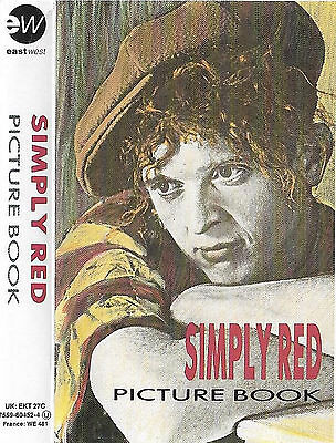 SIMPLY RED PICTURE BOOK CASSETTE ALBUM EW Downtempo, Synth-pop, Soul,