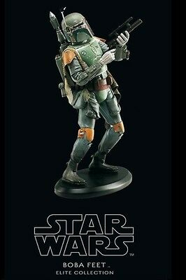 Attakus Star Wars Elite Collection Boba Fett Statue Brand New
