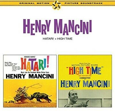 Henry Mancini - Hatary / High Time (1962 & 1960) (Original Soundtrack) [New CD]
