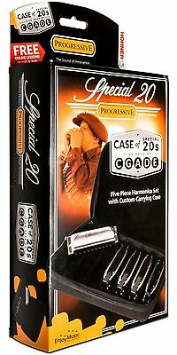 Hohner Case of Special 20s Harmonica 5-Pack
