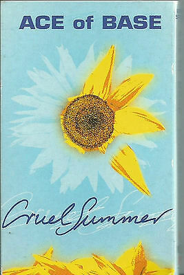 Ace Of Base ‎Cruel Summer CASSETTE SINGLE Electronic Synth-pop Dance