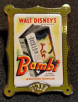 Retired 2002 Disney Store 12 Months Of Magic Movie Poster Series Bambi Pin