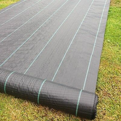 Weed Control Mat Heavy Duty Grade 90gsm - 1.83m x 100m Weedmat
