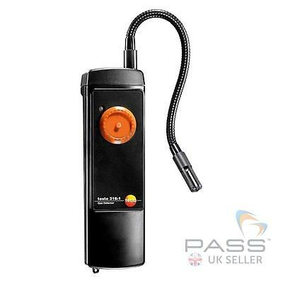 *NEW* Testo 316-1 Gas Leak Detector 06320316 + Flexible Probe and Battery / UK