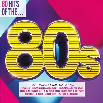 Various Artists - 80 Hits Of The 80s / Various [New CD] UK - Import