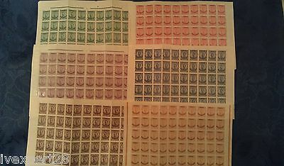 1919/20 Bulgaria occup.Greece Thrace complete sets sheet of 50 MNH**