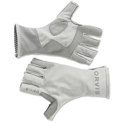 Orvis Sunglove Light Gray Lg FREE SHIPPING