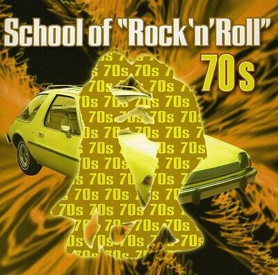 Various Artists - School of Rock & Roll: The 70's / Various [New CD]