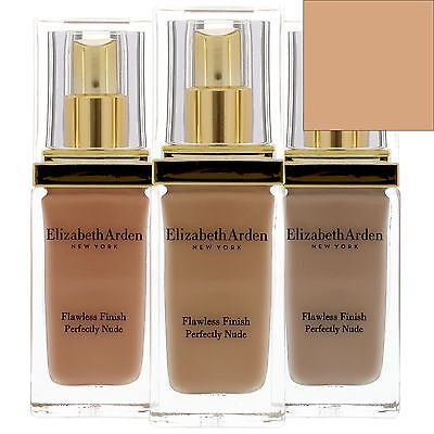 NEW Elizabeth Arden Flawless Finish Perfectly Nude Makeup SPF15 Soft Beige 30ml