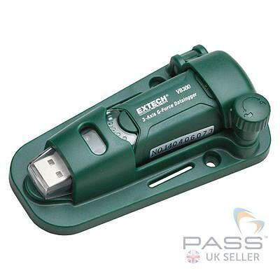 Extech VB300 3 Axis G Force USB Datalogger / UK Stock