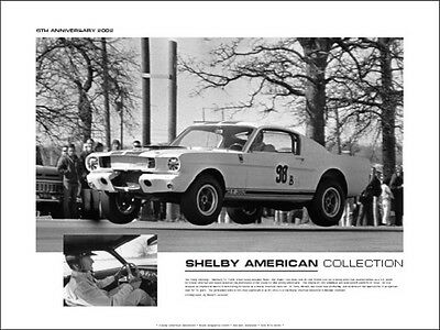 Flying GT350 - Shelby American Collection 2002 poster - Out of print!
