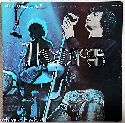 "12"" Vinyl THE DOORS - Absolutely Live - 2LP"