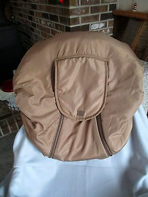 COZY COVER Infant Baby Carrier Cover Car Seat Cover Reversible Tan ...