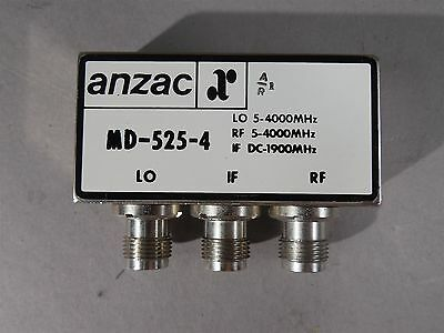 Anzac MD-525-4 High Level Double-Balanced Mixer 5-4000 MHz