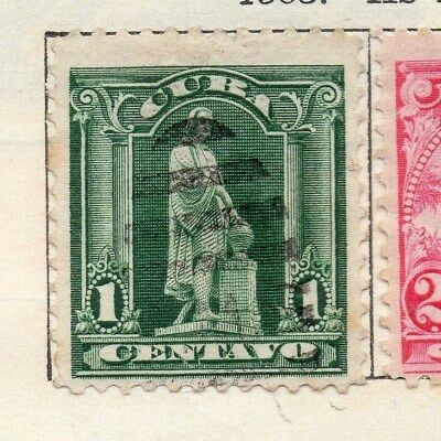 Spanish Caribbean 1905 Early Issue Fine Used 1c. 113681