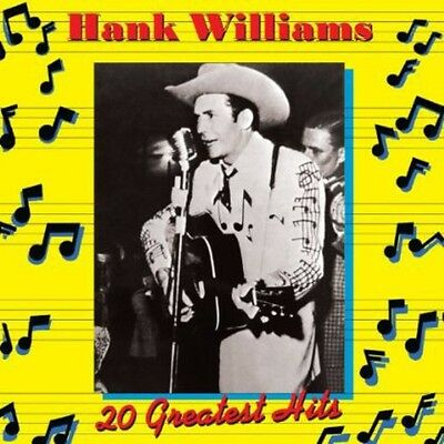 Hank Williams, Hank Williams Jr. - 20 Greatest Hits 1 [New CD]