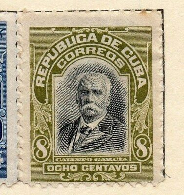 Spanish Caribbean 1911 Early Issue Fine Mint Hinged 8c. 113697