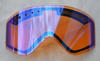 2016 NWOT ANON FIGMENT REPLACEMENT LENS $30 blue amber mirror snowboard goggles