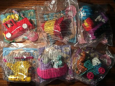 1994 McDonalds ANIMANIACS Action Toys (6) Different - MINT in PACKAGES
