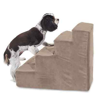 Majestic Pet 4 Step Suede Dog Stairs