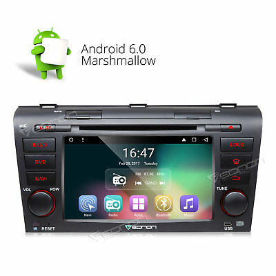 "GA6151 7"" Android 5.1 Car DVD Player GPS Touch OBD2 WiFi for Mazda 3 2004~2009 e"