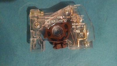 SCHNEIDER / SQUARE D - EXTERNAL AUXILIARY CONTACT - Model  #  9999SX6