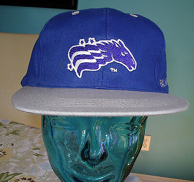Baltimore Stallions CFL Hat Cap Adjustable Leather Strap NEW NWT