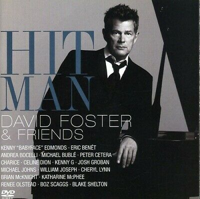 Various Artists - Hit Man: David Foster and Friends [New CD] With DVD