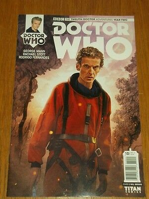 Doctor Who #10 Twelfth Doctor Year Two Titan Cover B November 2016 Nm (9.4)
