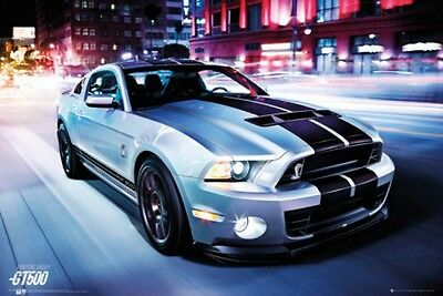 Autos - Ford Shelby, Gt500 2014 Poster Plakat (91x61cm) #78378