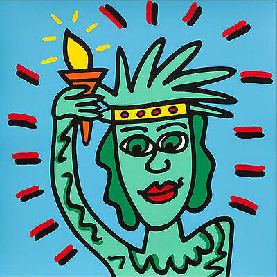 "JAMES RIZZI - LIBERTY (2009) - Originalserigraphie - Auflage 99 - ""ICONS"""