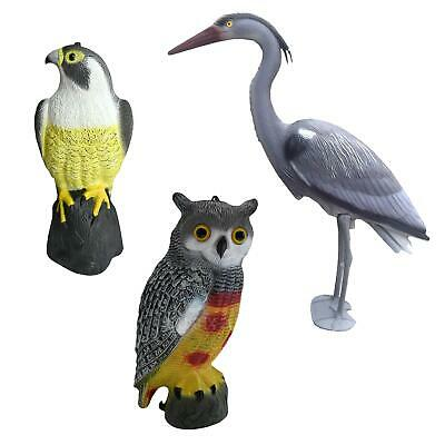 Pond Garden Decoy Deterrent Ornamental Decorative Garden Realistic Scarer Koi