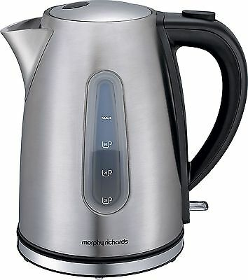 Morphy Richards 43902 Accents Stainless Steel Jug Kettle 3KW - 1.5L -From Argos