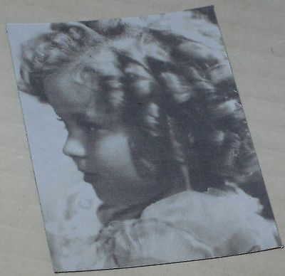 "Cute Shirley Temple Growing Valentines Floppy Magnet Approx 2/"" x 3/"""