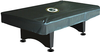 NFL Green Bay Packers Logo 8ft. Pool/Billiards Table Cover