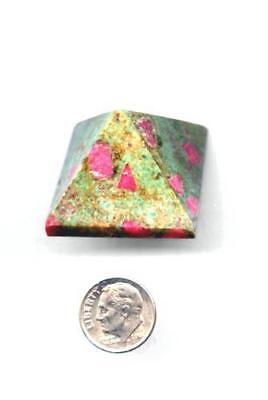 Ruby Zoisite Pyramid - Medium Size  37 grams