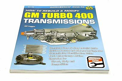 S-A Books How To Rebuild And Modify Th400 Transmissions Part Number 186